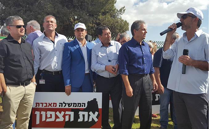 מחאת הצפון עלתה  לירושלים