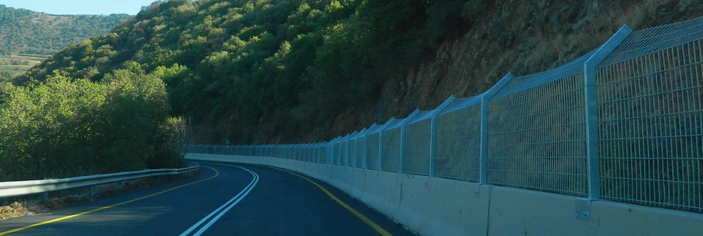 הושלם פרויקט הסדרת  כביש הגישה הדרומי לעין קנייא
