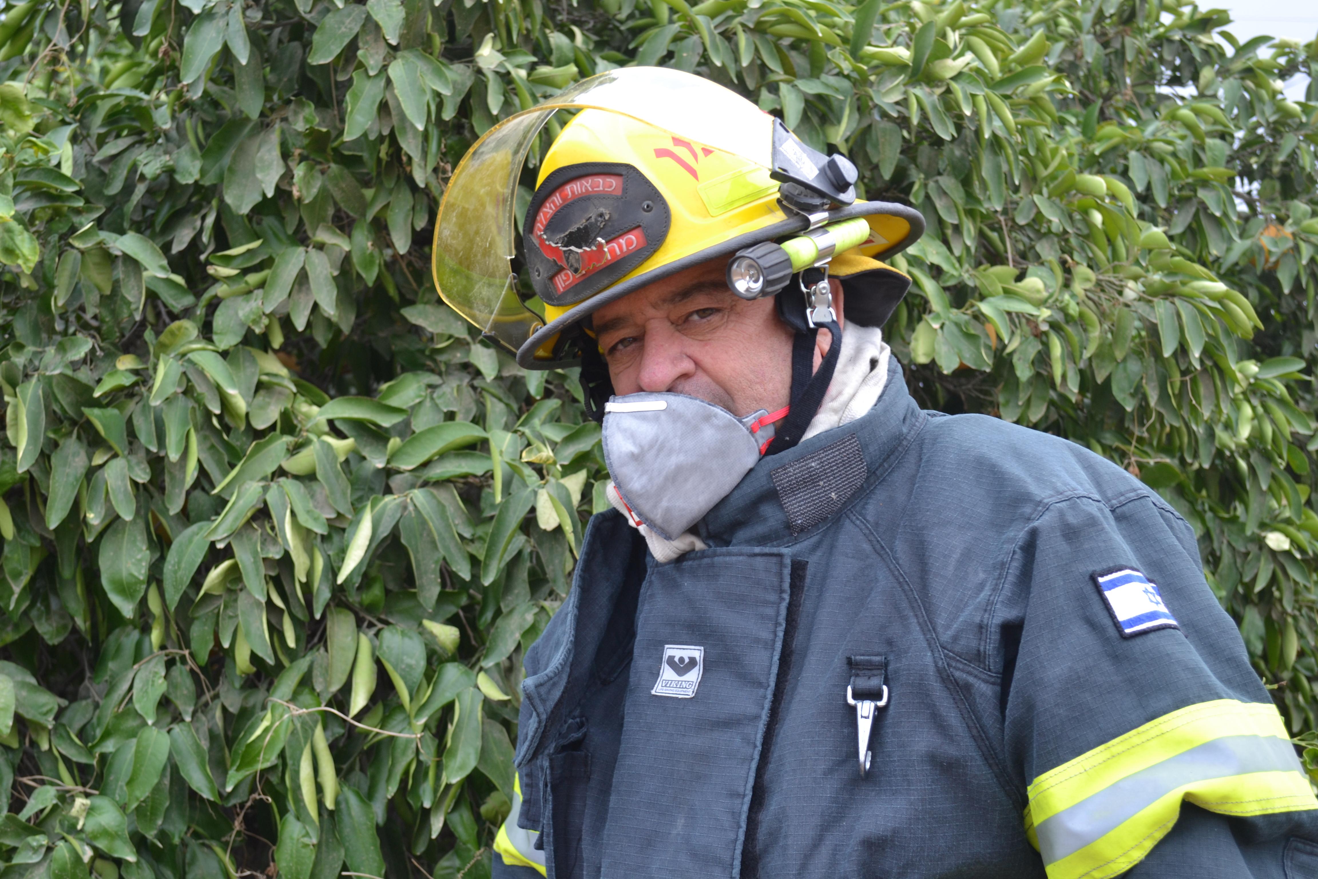 לוחמי אש מתחנת גליל-גולן נרתמו לסיוע המחוזות השכנים בגל השריפות