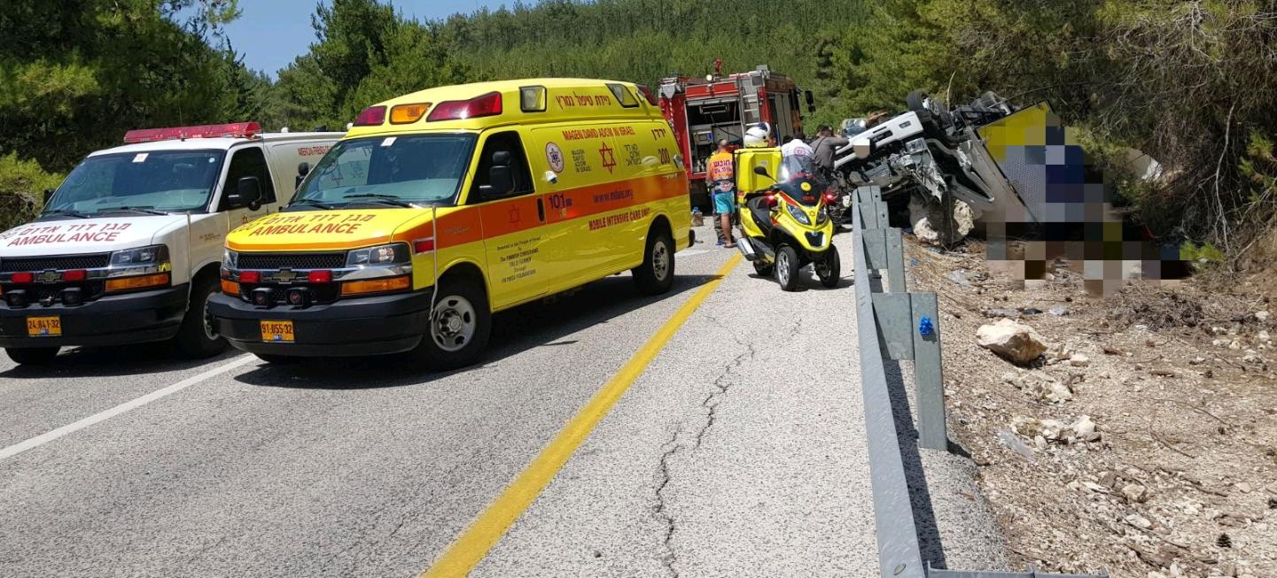 הרוג בתאונת דרכים בגליל