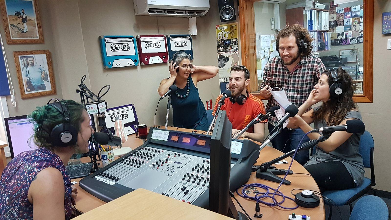 רדיו קול הגליל במשדר עצמאות