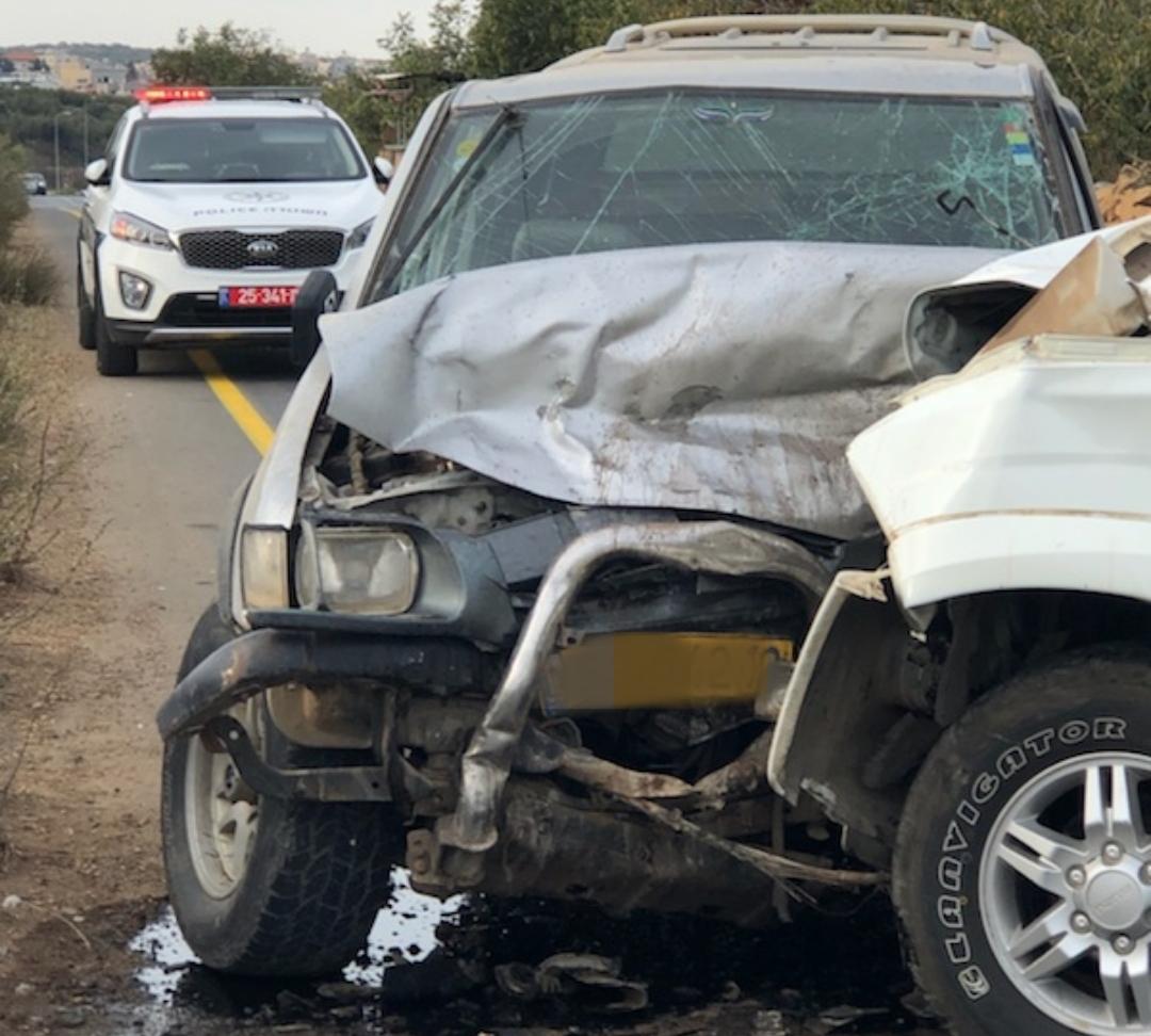 תאונת דרכים חזיתית בין שני רכבים ארעה בכביש 98 בין מסעדה למג'דל שמס