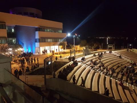 ערב טוב תל חי – נחנך אמפיתאטרון ראשון מסוגו בגליל המזרחי