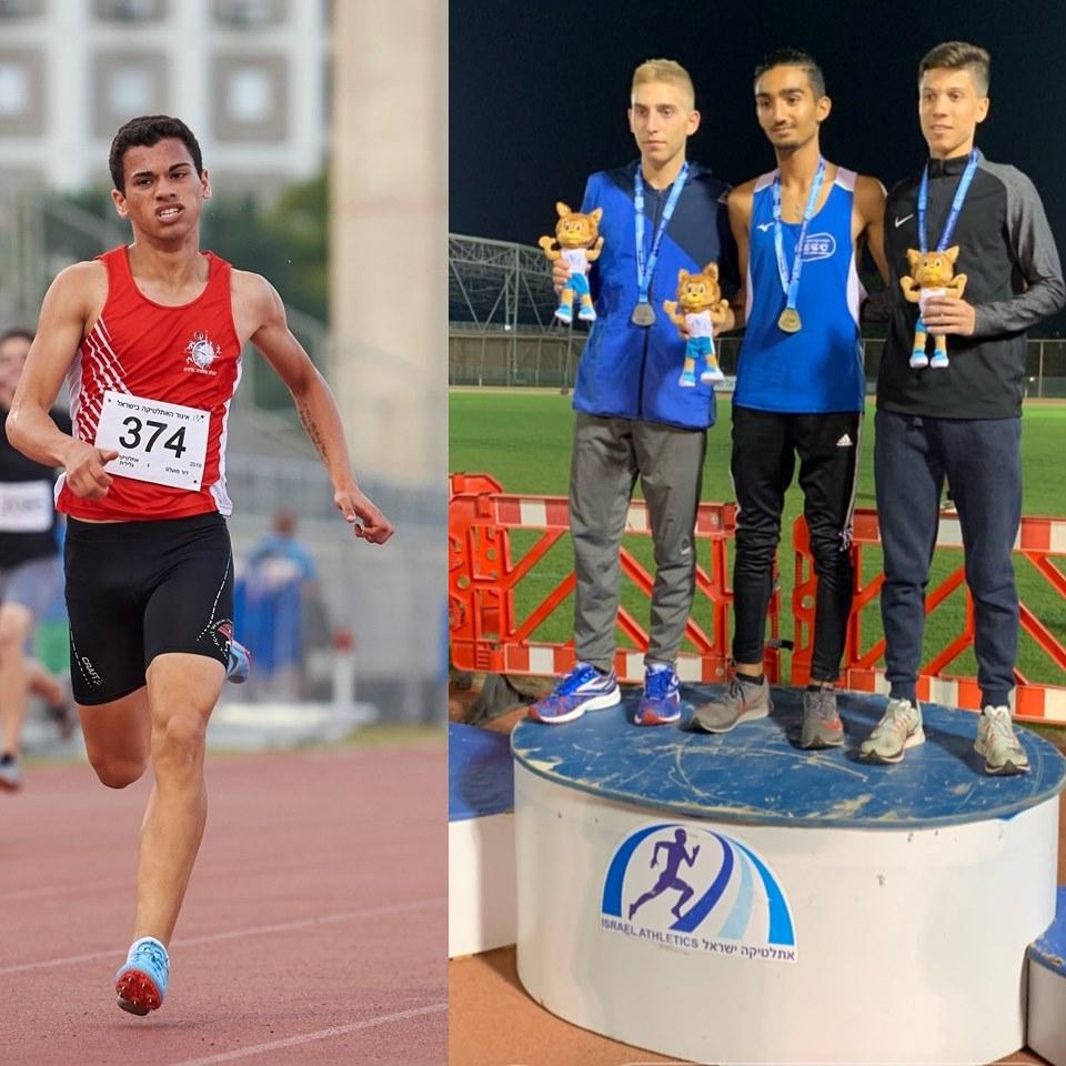 בין המושבים: שני נערים מיישובי המועצה שברו שיאים באליפות ישראל באתלטיקה קלה