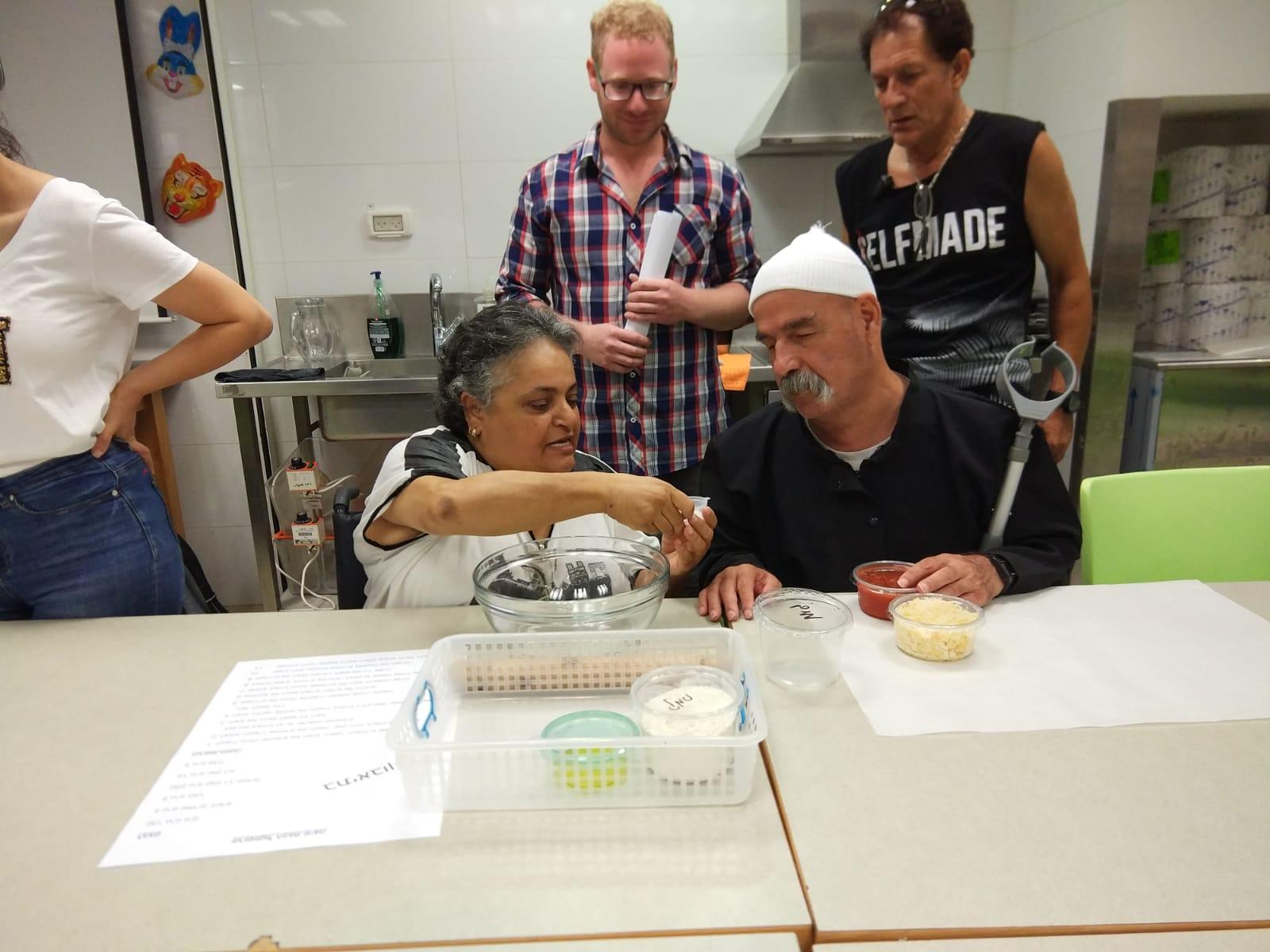 מטבח נגיש לאנשים עיוורים ולקויי ראיה