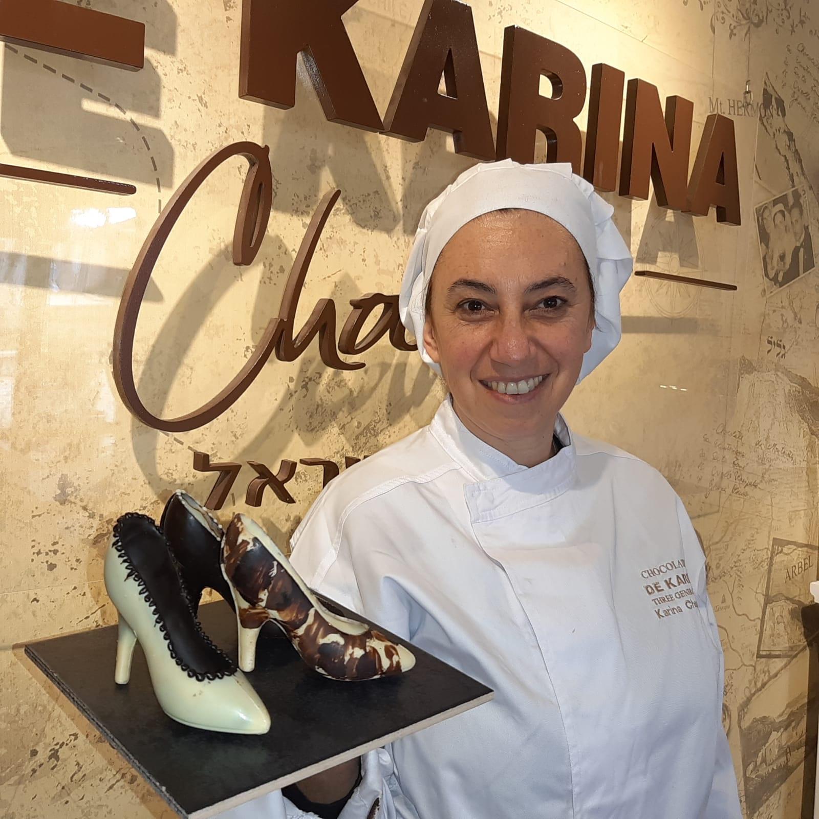 לכבוד יום האישה: אישה שוקולד