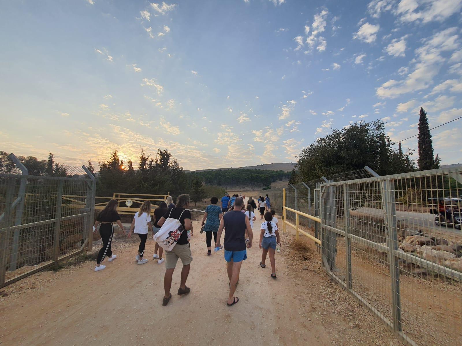 29 מיישובי מועצה אזורית הגליל העליון ביום הליכה במסגרת תכנית אפשרי בריא