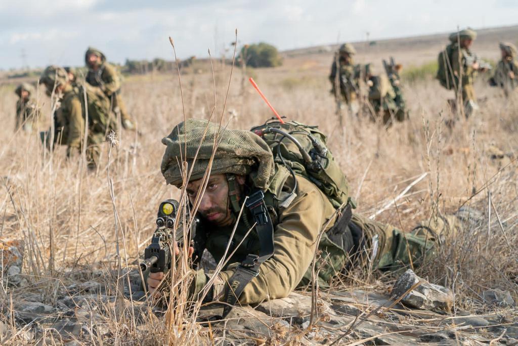"""גדוד """"ברק"""" וגדוד """"גדעון"""" של חטיבת גולני עברו את בוחן הרף של פיקוד הצפון"""