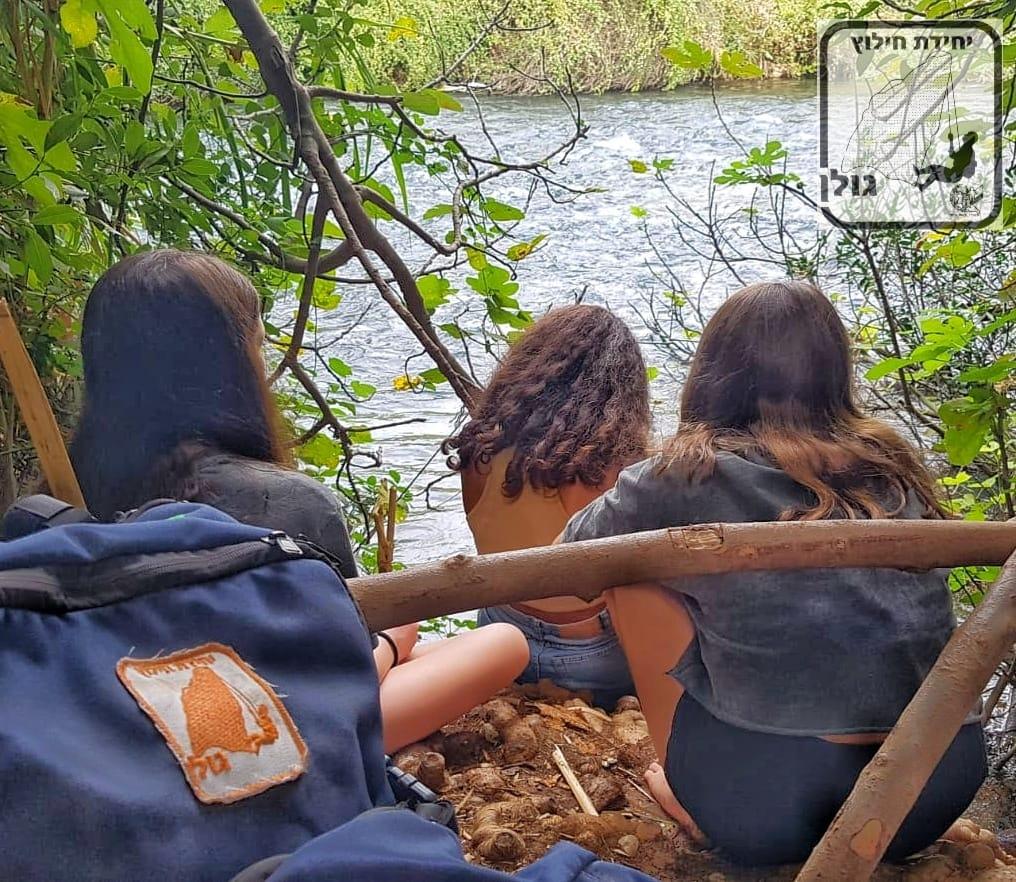 מתנדבי משטרת ישראל מיחידת חילוץ גולן חילצו היום בהדן שלוש נערות מישובים שונים בצפון