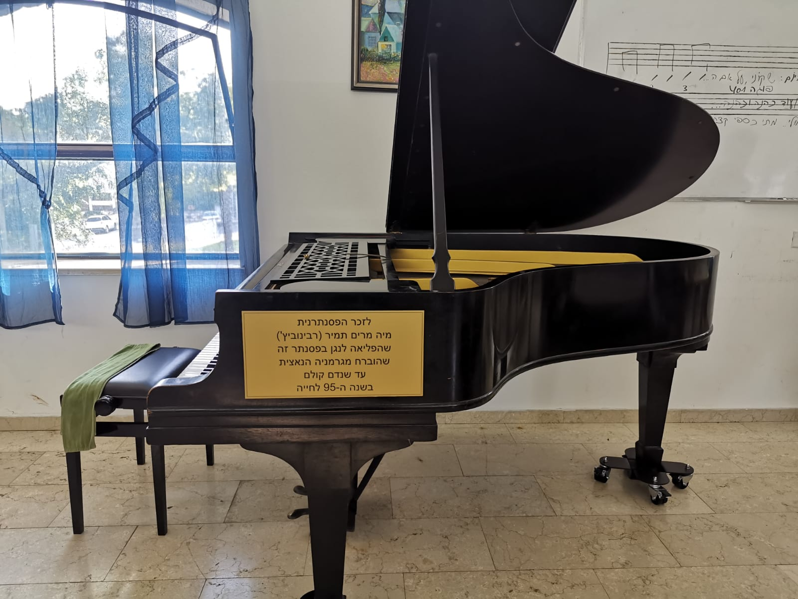 מגרמניה הנאצית למרכז קלור – סיפורו של פסנתר