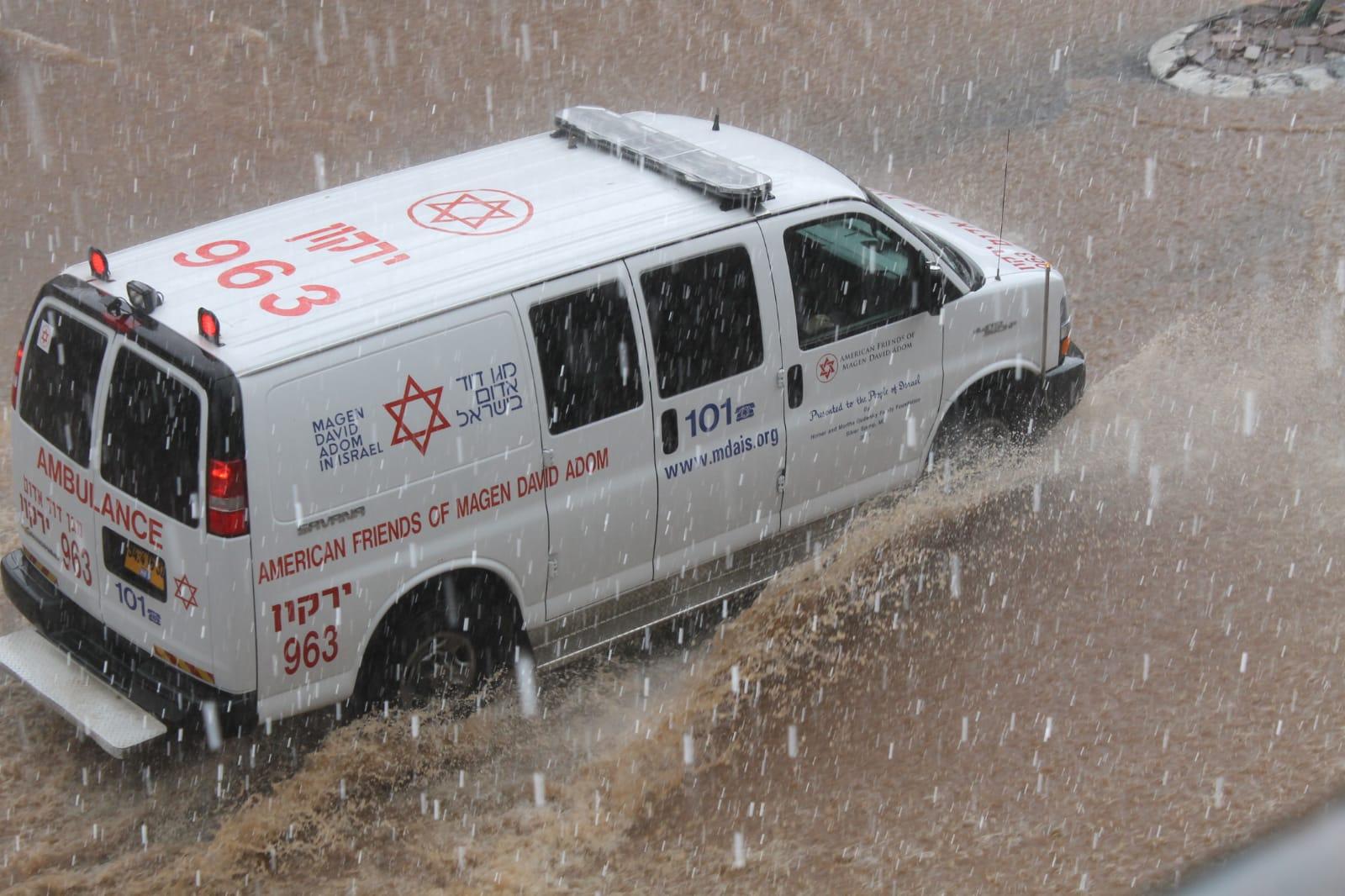 הגשם הראשון כבר כאן: מדריך מגן דוד אדום לחורף