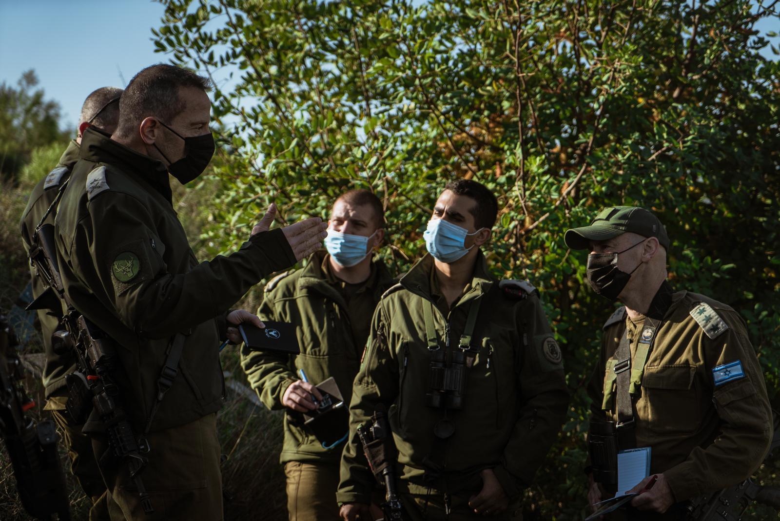 אימון חטיבה 188בגזרה הצפונית