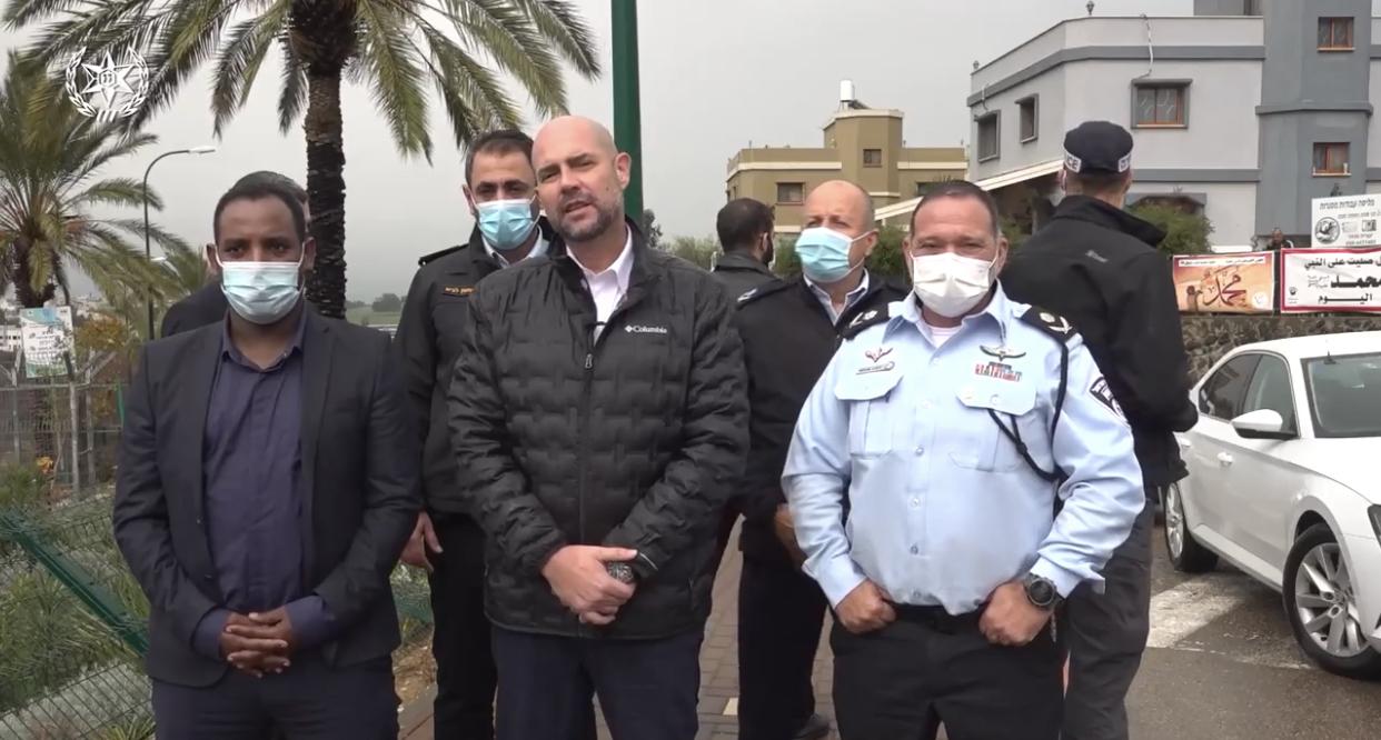 השר לביטחון פנים אמיר אוחנה הודיע על הקמת תחנת משטרה בטובא זנגריה