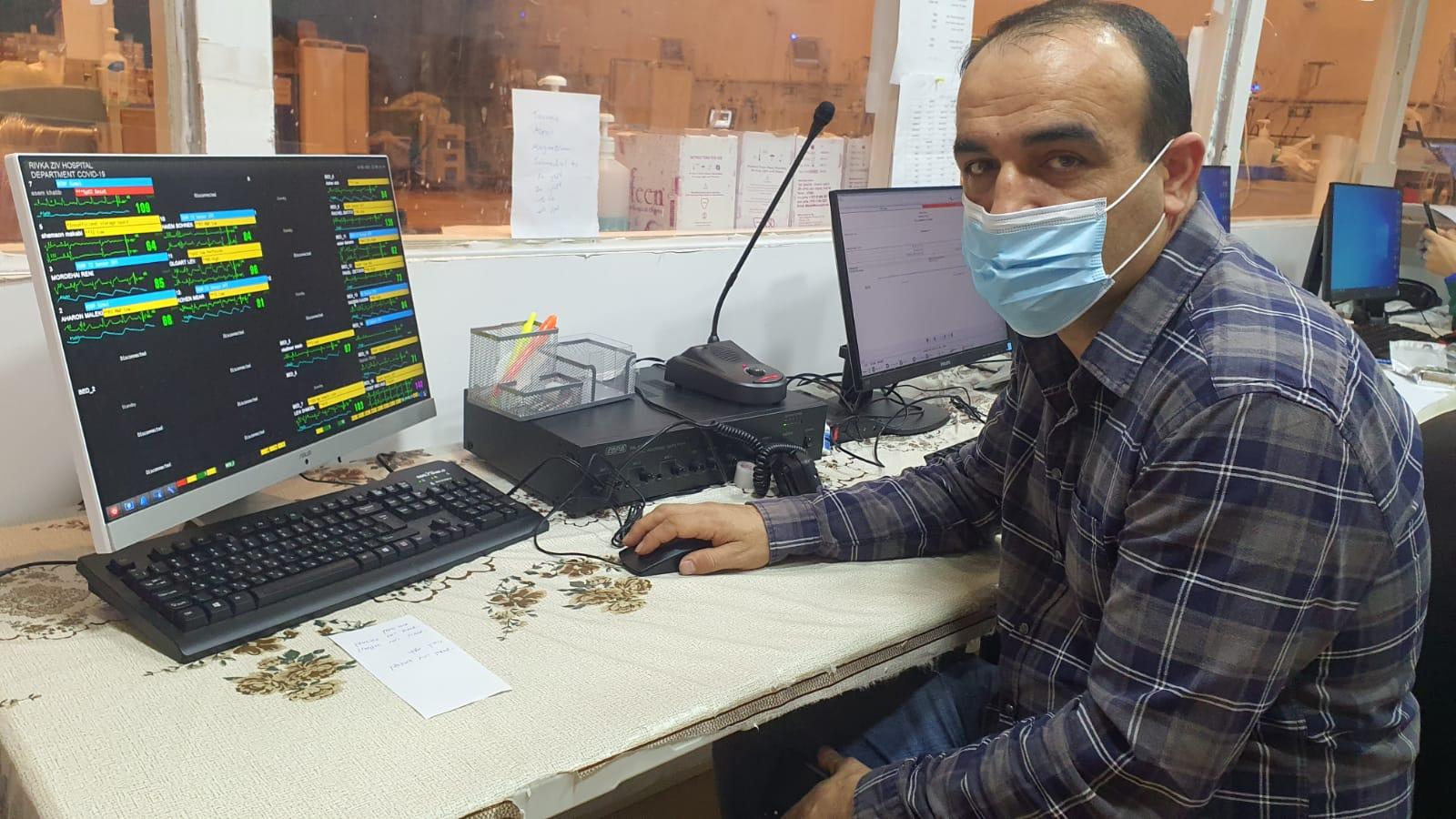 """לכבוד יום הרופא הבינלאומי: ד""""ר כמאל אבו ג'בל מנהל מחלקת הקורונה במרכז הרפואי """"זיו"""""""