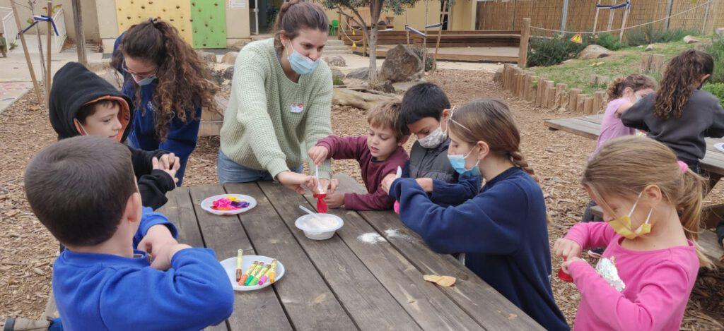 במועצה אזורית הגליל העליון פתחו מרכז יום חינוכי לילדי המורים בחינוך המיוחד לזמן הסגר