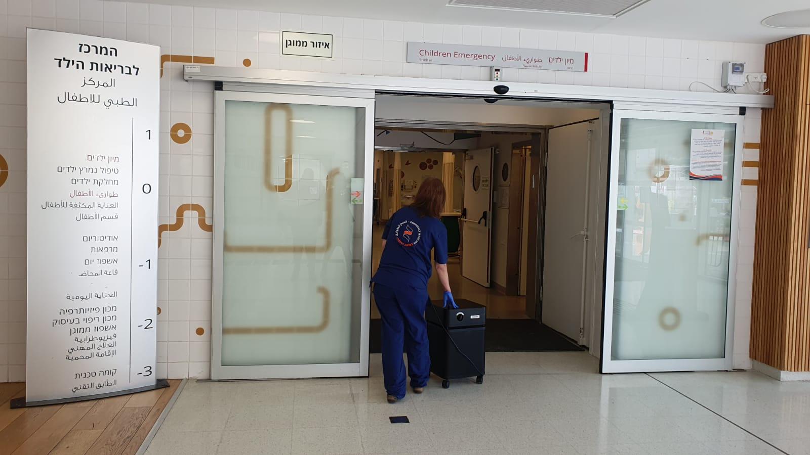 המרכז הרפואי זיו זכה לציון 96 במודל תמרוץ למניעת זיהומים