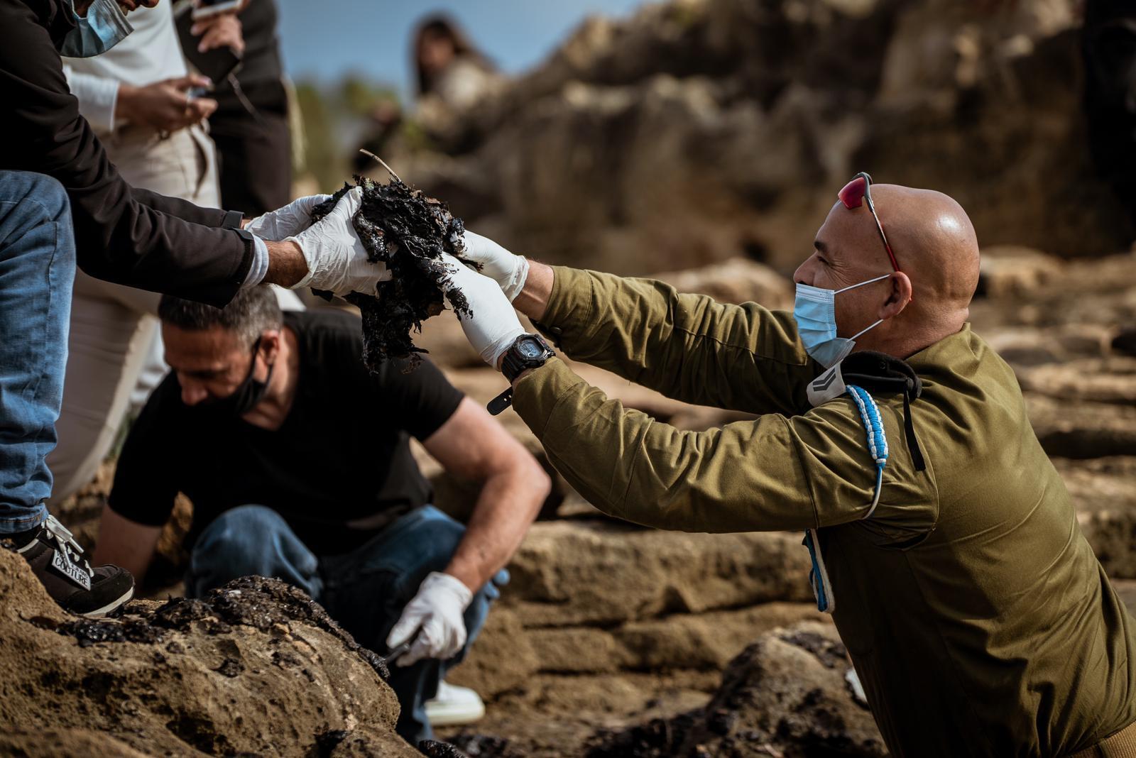 ״עוצבת הגליל״ תסייע בניקיון רצועת חוף ראש הנקרה בשבוע הקרוב