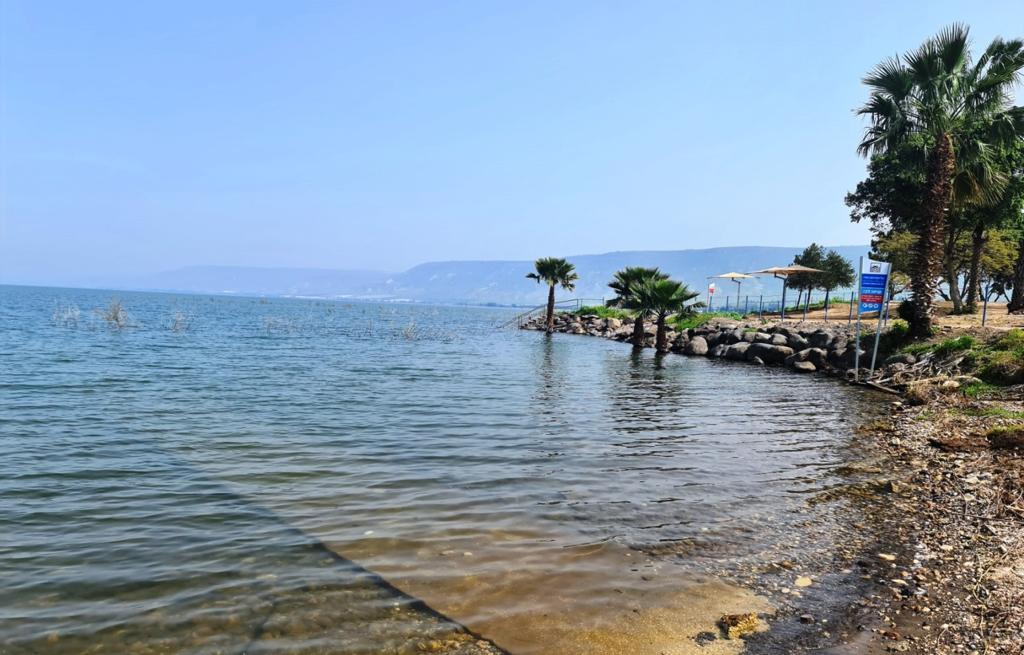 חופי איגוד ערים כינרת ערוכים לפתיחת עונת הרחצה ב-18 במרץ 2021