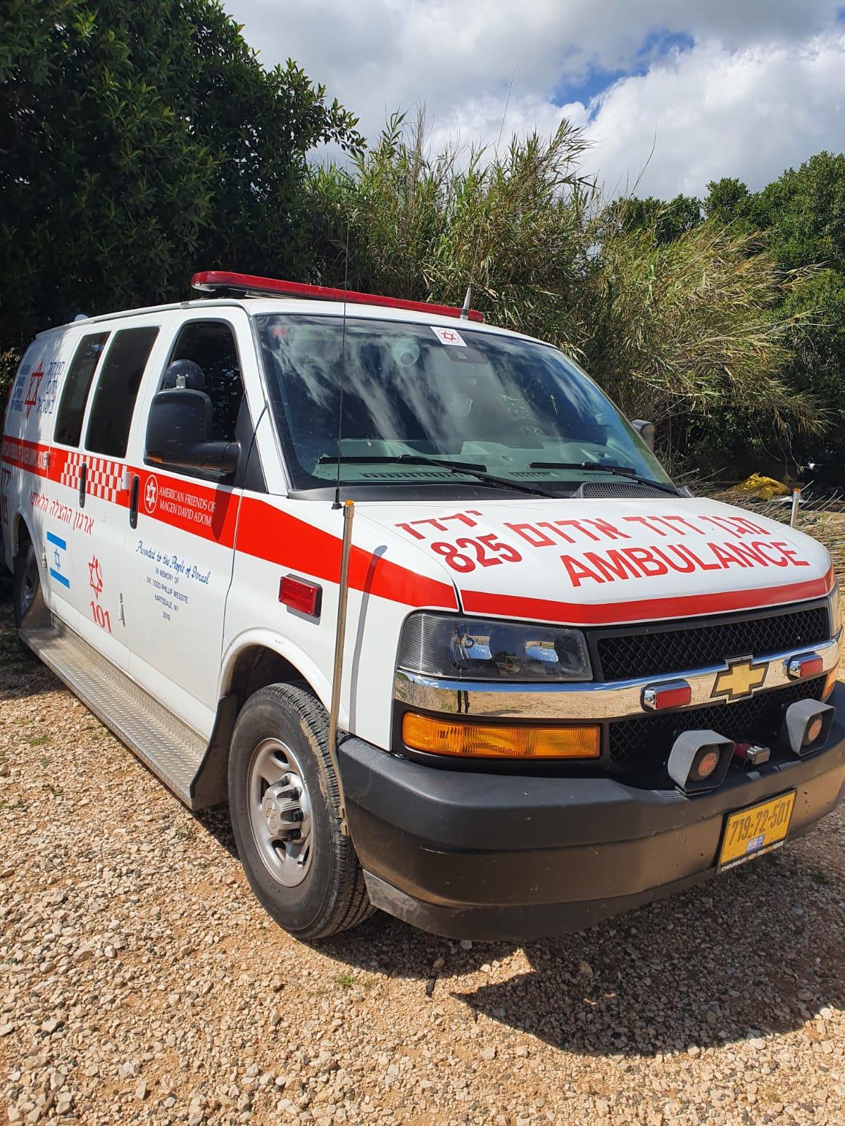 משרד הבריאות ביטל תוספת תקני הפעלה לאמבולנסים בגליל העליון
