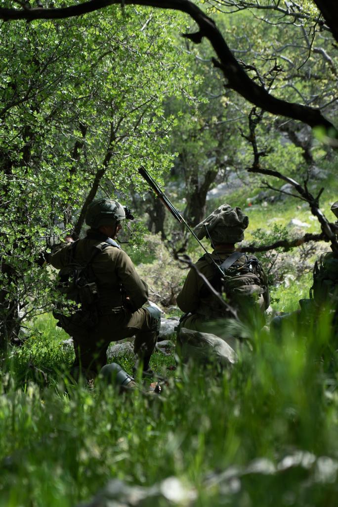 הסתיים תרגיל חטיבת גולני ברמת הגולן