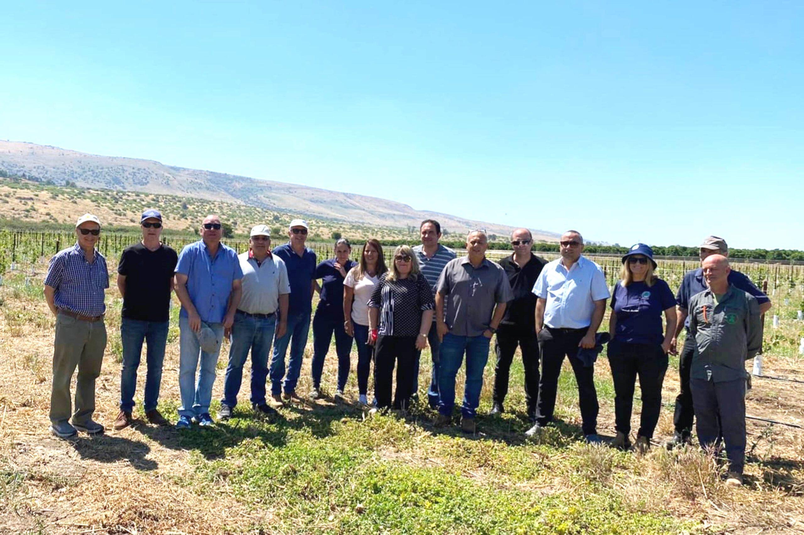 סיור חדשנות בחקלאות בגליל העליון