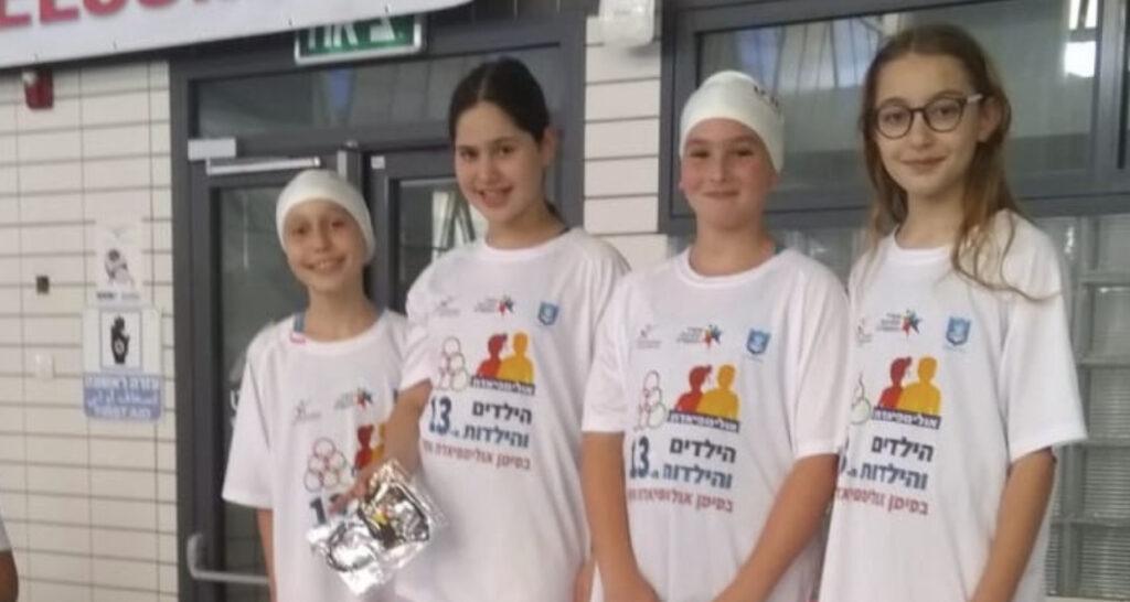 ספורטאיות הגליל העליון זכו במדליית זהב באולימפיאדת הילדים