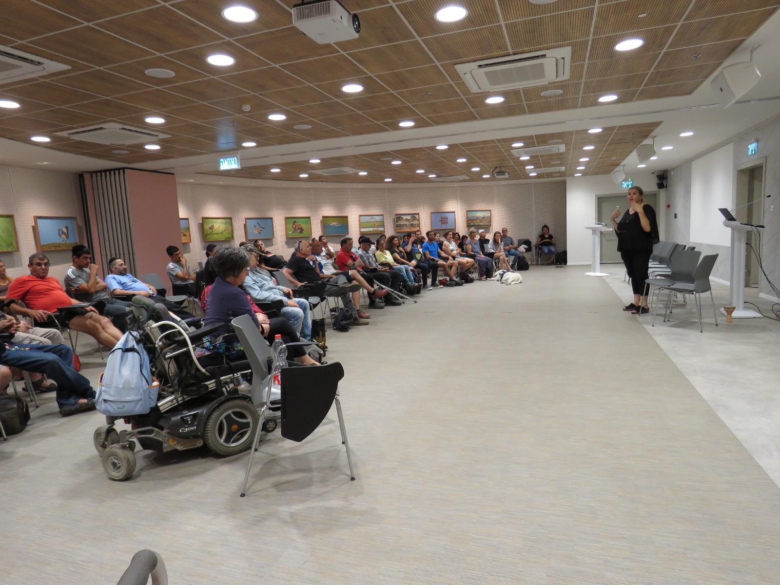 אירוע פתיחת הקיץ של המרחב לחיים עצמאיים בגליל באגמון החולה