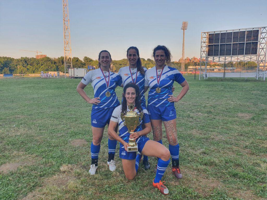 שחקניות רוגבי הגליל העליון זכו יחד עם נבחרת רוגבי ישראל באליפות אירופה