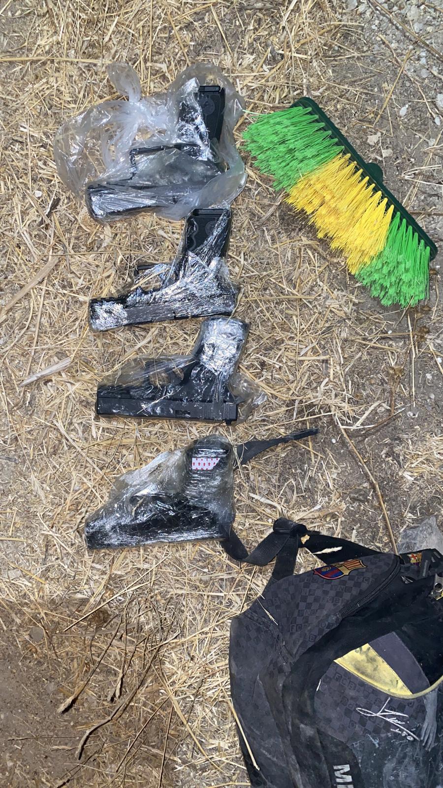 """יג""""ל ולוחמי גדוד אריות הירדן סיכלו הברחת נשקים מגבול ירדן"""