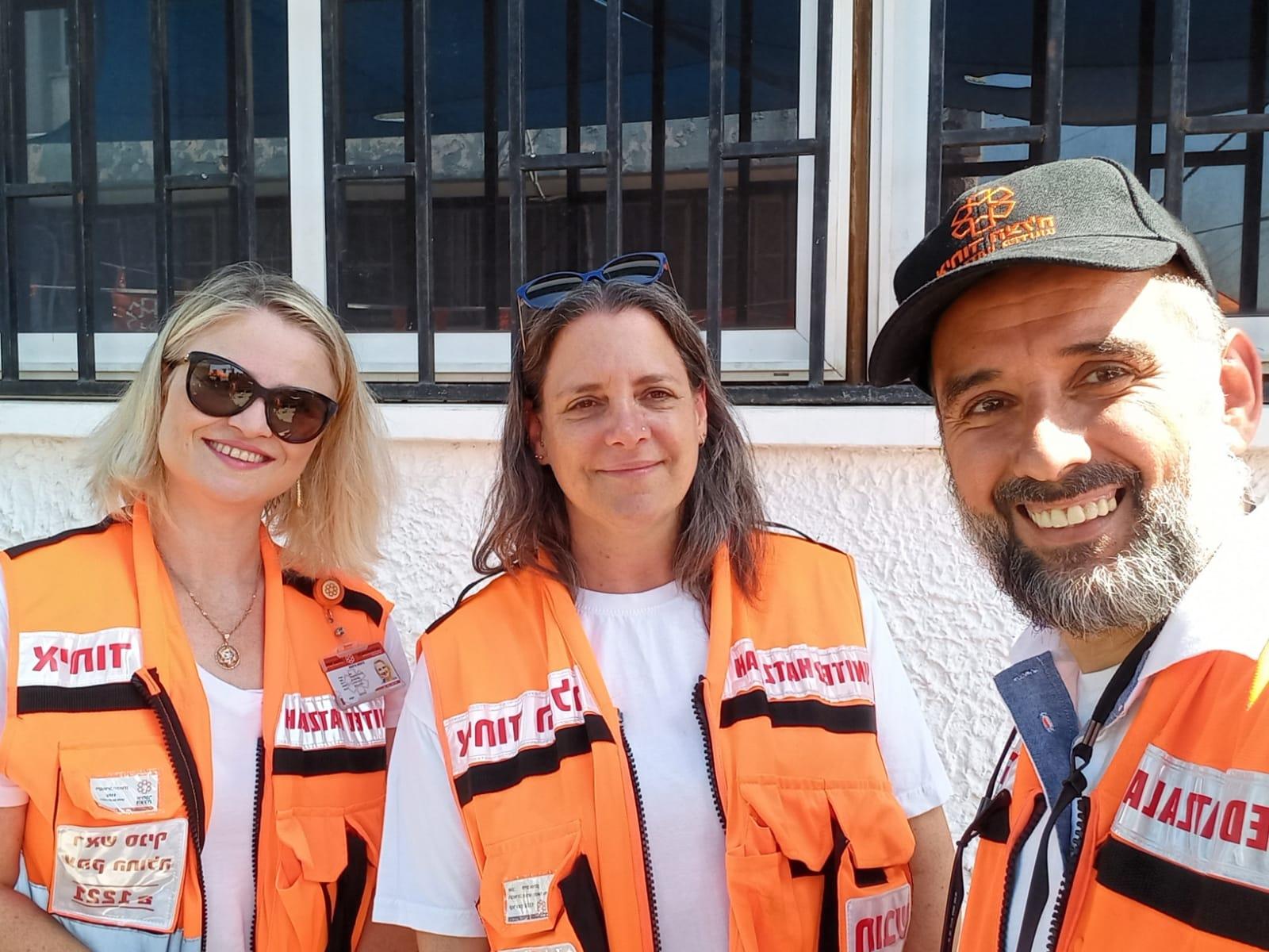 מתנדבי איחוד הצלה סניף עמק החולה למען הקהילה