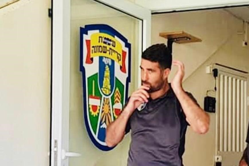"""מאמן קבוצת הנוער של עירוני איתוראן קריית שמונה אלון זיו: """"החלום שלי לאמן קבוצה בחו""""ל"""""""