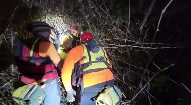 יחידת חילוץ גולן בחילוץ בבניאס של אב וביתו