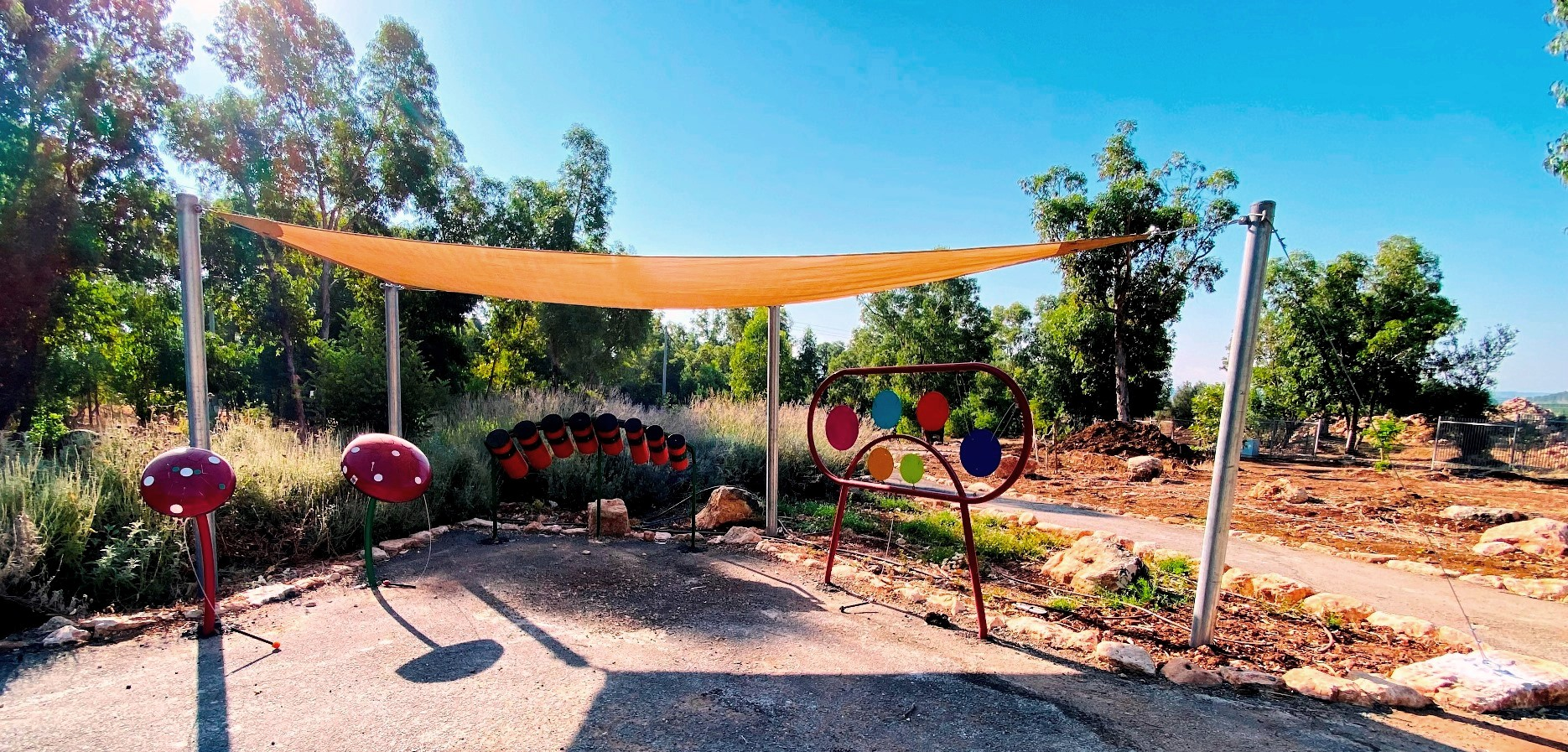פארק נחל קדש מונגש לילדים ואוכלוסיות עם צרכים מיוחדים